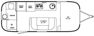 airstream-sport-22fb-floorplan