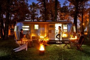 Airstream Professionals supplied the Albirondack Campsite
